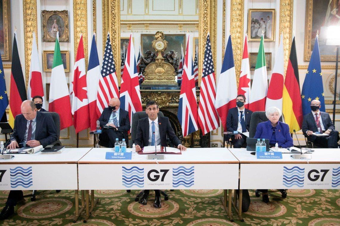 Las naciones del G7 acuerdan que los gigantes tecnológicos paguen impuestos justos | G7, Impuestos, Empresas